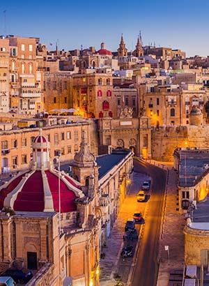 Europese eilanden per auto ontdekken: Malta