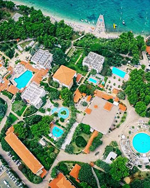 Hotels Supetar, Kroatië