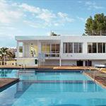 Badplaatsen Ibiza: Sant Antoni de Portmany, Fiesta Hotel Milord