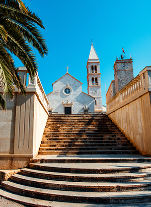 kerk Supetar, Kroatië