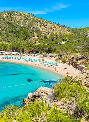 Leukste badplaatsen Ibiza: Ole Galeon