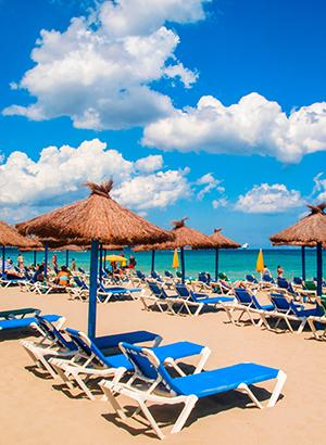 Leukste badplaatsen Ibiza: Playa d'en Bossa
