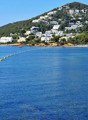 Leukste badplaatsen Ibiza: Santa Eulalia del Rio