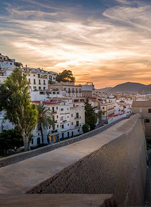 Leukste badplaatsen Ibiza: Ibiza-Stad