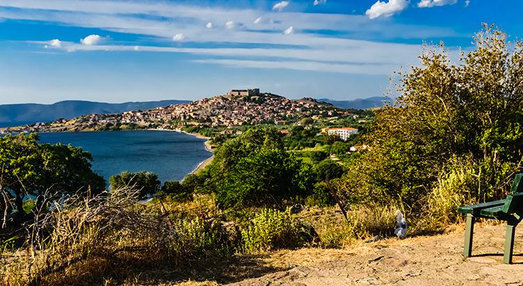 Mooiste dorpje Molyvos, Lesbos