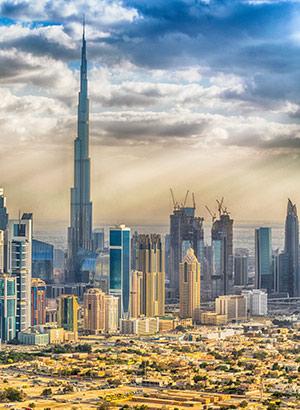 Populaire stadshotels, Dubai