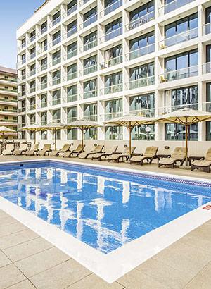 Populaire stadshotel: Aparthotel Golden Sands 3