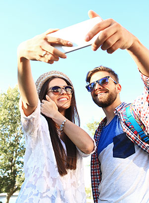 Tip beste vakantie selfies
