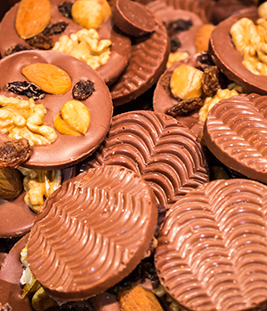 Chocoladegeschiedenis, Weekendje Brussel chocoholics