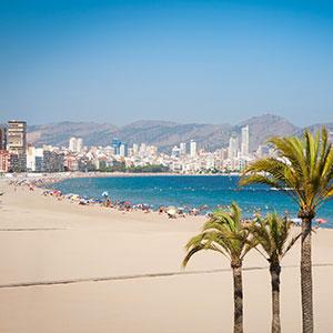 Costa Blanca met kinderen, strand