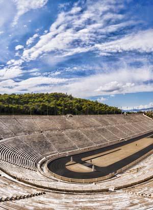 Doen in Athene, Panathenaic Stadion