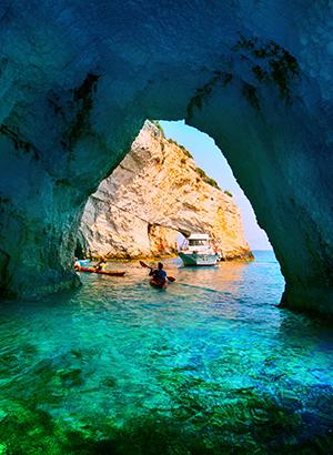 Doen op Zakynthos: blauwe grot