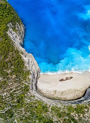 Mooiste stranden van Griekenland, Navagio Beach