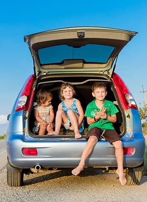 Tips lange autorit vakantie met kinderen