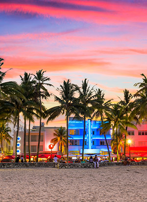 Op vakantie in maart? Zon vind je in Miami!