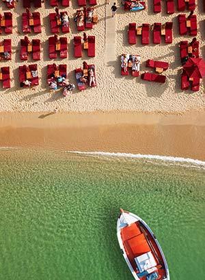 Wat te doen Mykonos: stranden