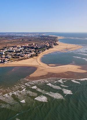Costa de Huelva, Isla Canela