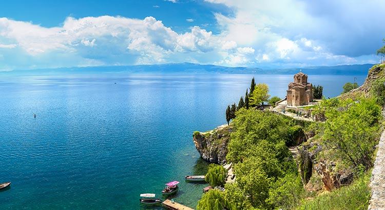 Zonvakantie Meer van Ohrid