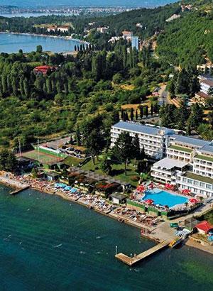Doen aan het Meer van Ohrid, Macedonië