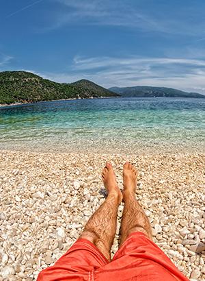 Mooiste stranden Kefalonia: Antisamos Beach