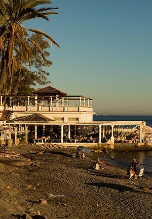 Mooiste stranden Málaga: Banos del Carmen