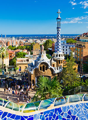 Voorjaar in de Spaanse steden: Barcelona