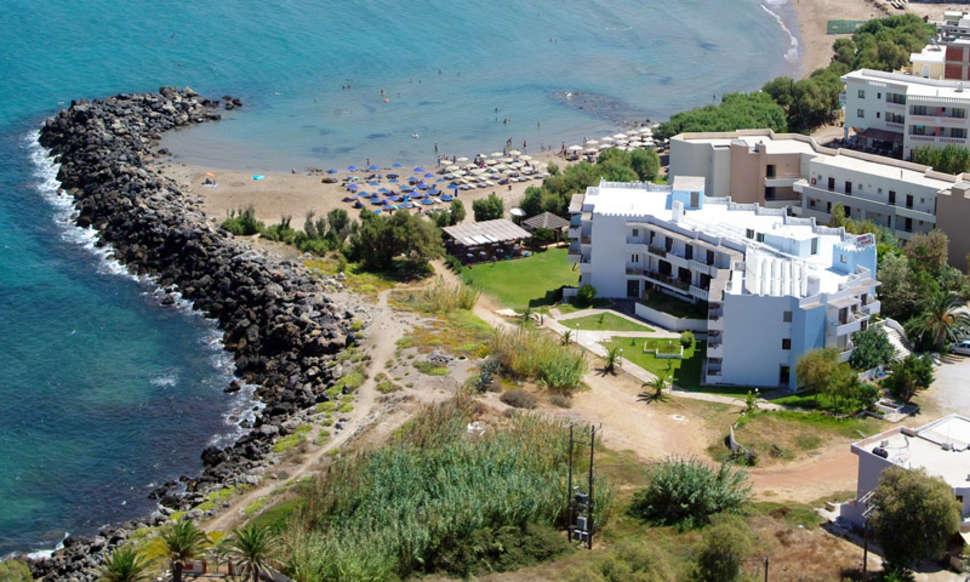 Mooiste stranden Griekenland: Kreta, Elena Beach Hotel, Kissamos