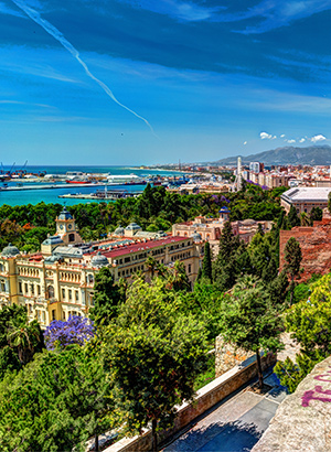 Badplaatsen Costa del Sol: Málaga
