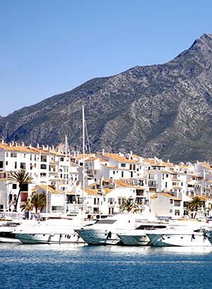 Badplaatsen Costa del Sol, Marbella