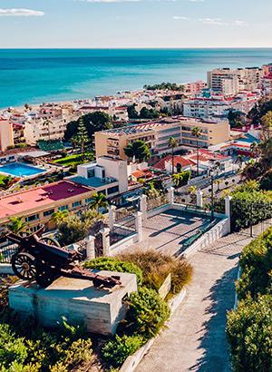 Badplaatsen Costa del Sol; Torremolinos