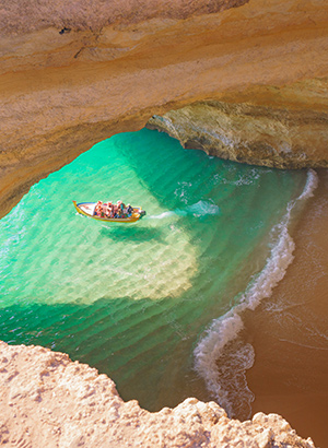 Dagtrips & excursies in Algarve per boot