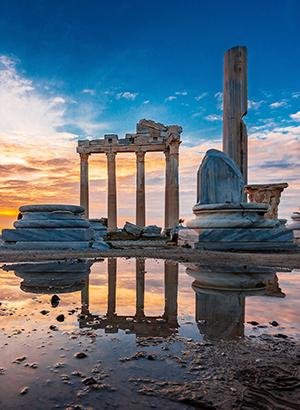 Doen in Side: tempel van Apollo