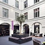 Bezienswaardigheden Kopenhagen: Stroget, First Hotel Kong Frederik