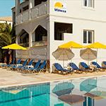 Redenen vakantie Corfu: strand, Smartline Mimosa