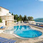 Populaire badplaatsen Kroatië: Rabac, Valamar Sanfior Hotel & Casa