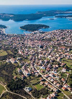 Populaire badplaatsen Kroatië: Medulin