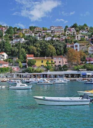 Leukste badplaatsen Kroatië: Rabac
