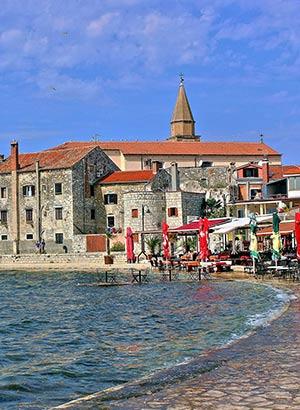 Leukste badplaatsen Kroatië: Umag