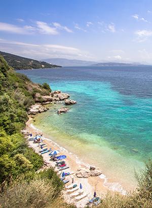 Mooiste stranden Corfu: Barbati Beach
