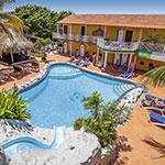Christoffelberg, Curaçao: Rancho el Sobrino & Blue View Appartementen