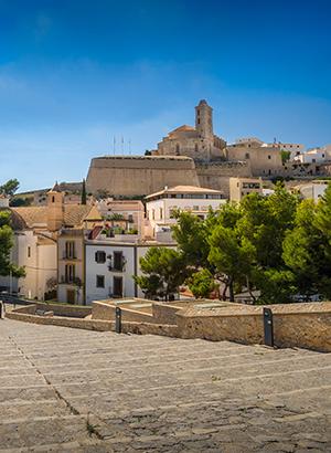 Doen op Ibiza: Ibiza-Stad