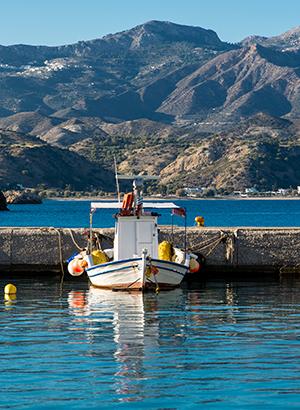 Doen in Karpathos: hoofdstad Pigadia