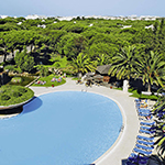 Zon in mei: Algarve, Falesia Hotel