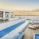Zon mei: Kreta, Abaton Island Resort & Spa