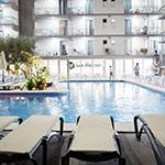 Leukste badplaatsen Costa Blanca: Benidorm, Hotel Los Alamos