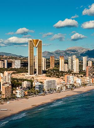 Leukste badplaatsen Costa Blanca: Benidorm