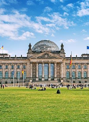 Reichstag Berlijn, geschiedenis