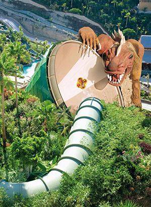 Siam Park, waterpark in Tenerife: glijbanen