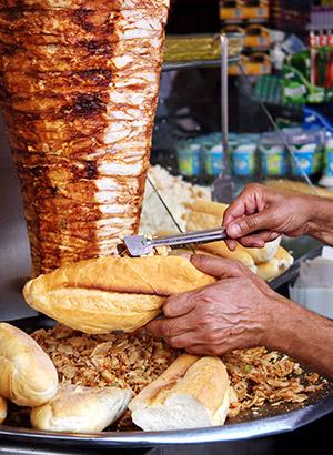 Specialiteiten Turkije: kebab