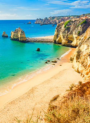 Zon in mei: Algarve